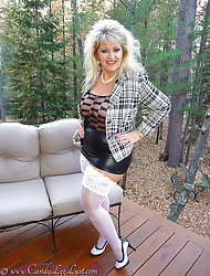 Sweets Leg Lust - Sweets Cummings in FF Nylons and Pantyhose