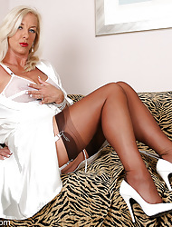 Amazing Astrid  & Astrid's Angels | Free Stocking Pics | Horny MILF With Big Heart of hearts On every side Stockings And High Heels